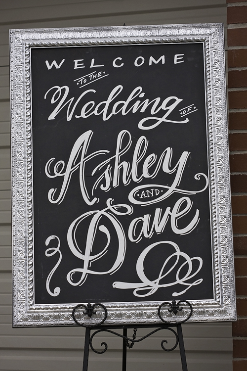 Sacramento Backyard Wedding | CMYK Photography | Wedding Chalk Art