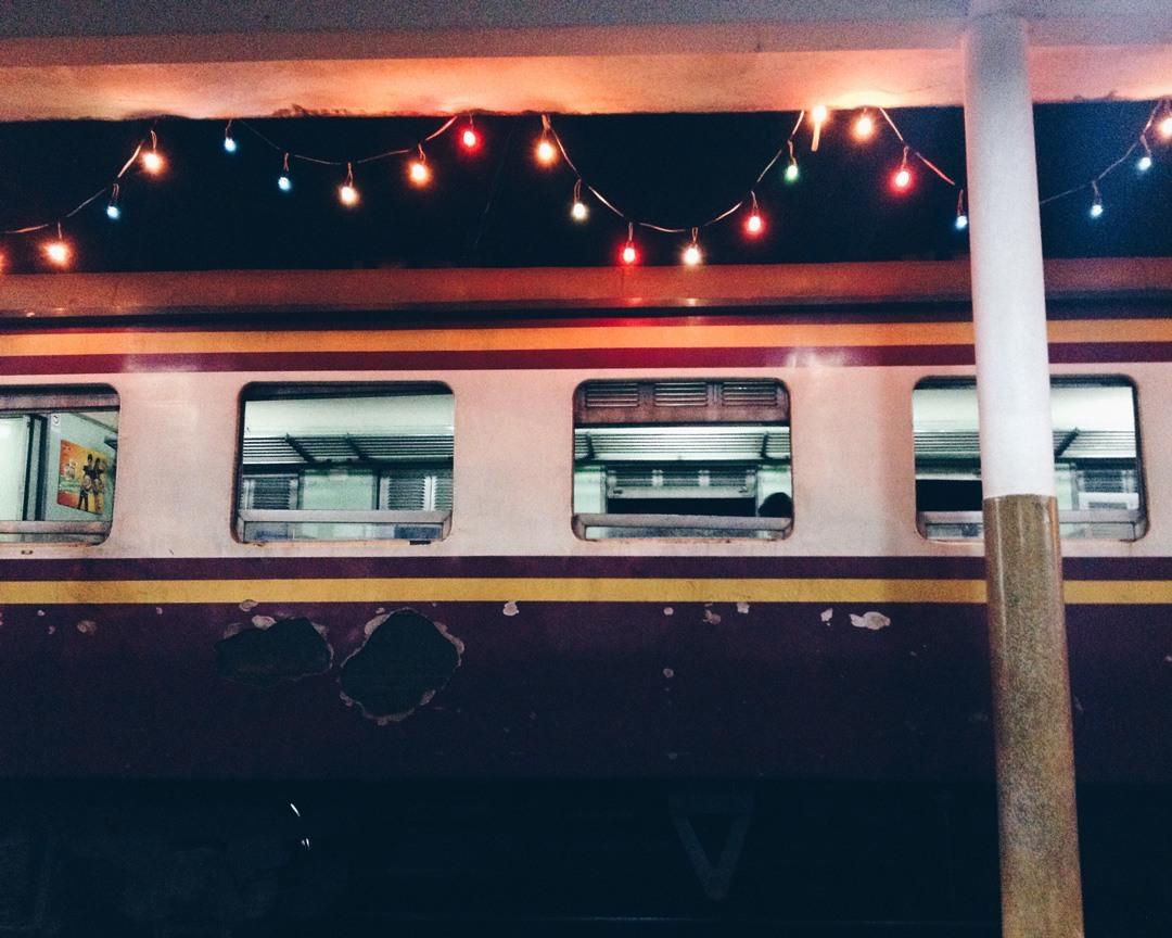 Day 104: Train Station — Chumphong, Thailand