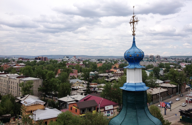 From the belltower in Irkutsk