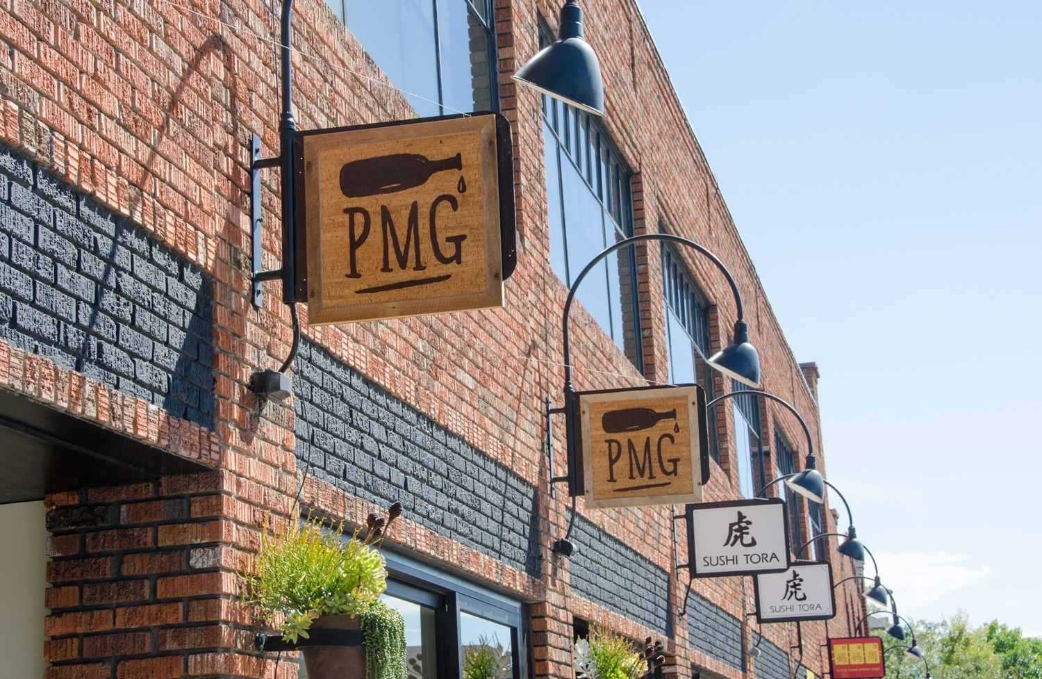 PMG wine bar on Pearl Street, Boulder