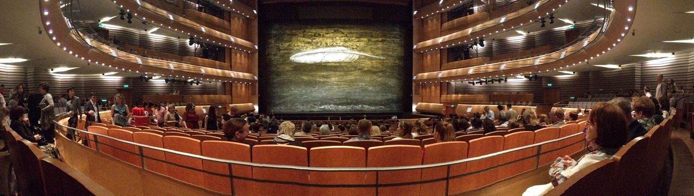The Mariinsky Theater in St. Petersburg, Russia, in June