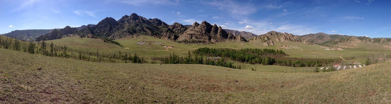 Gorki Terelj National Park, Mongolia, in May
