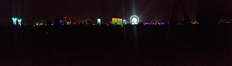 Coachella Music Festival in Indio, California in April