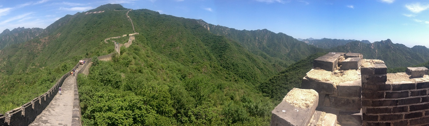 The Great Wall, China in May