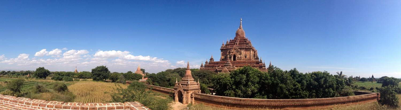 Bagan, Myanmar in December