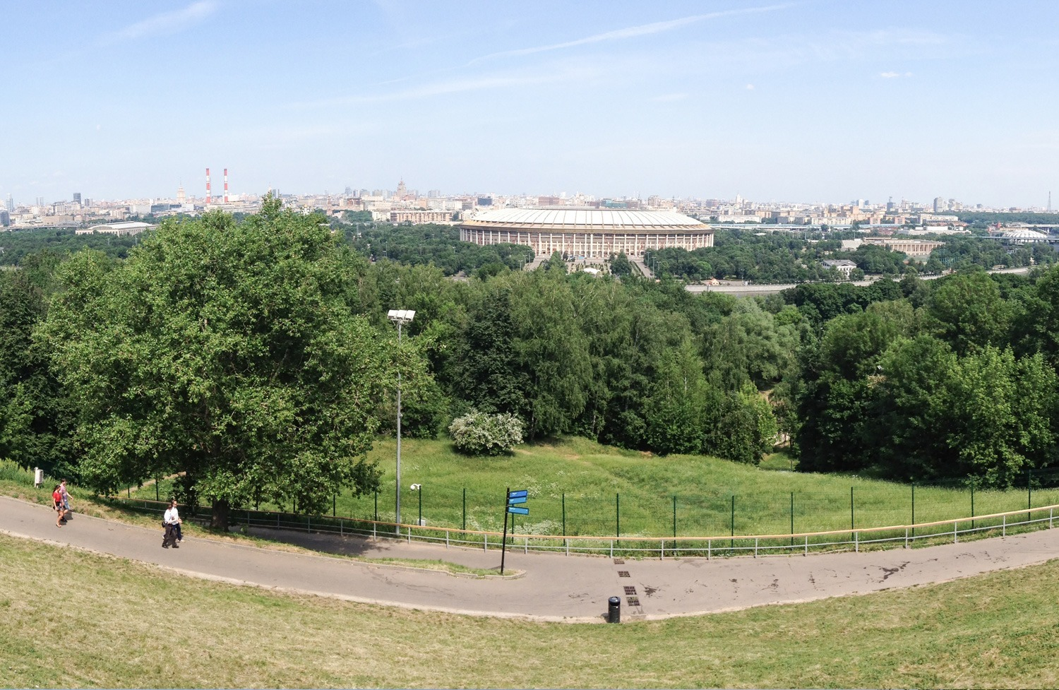 Moscow from the Sparrow Hills - Small Things in Big Numbers