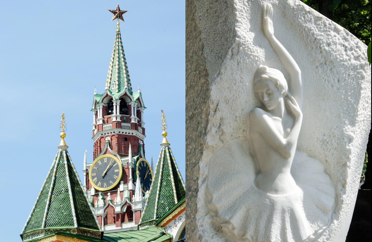 The Kremlin and Novodevichy Cemetary - Small Things in Big Numbers