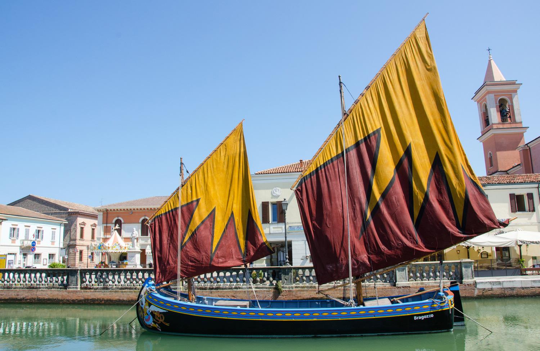 The boats of Cesenatico