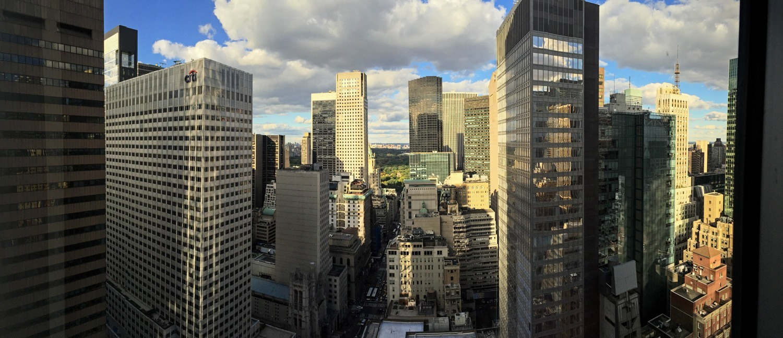 Midtown Manhattan in October