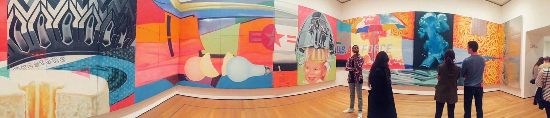 MOMA, Manhattan in October