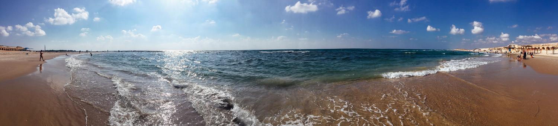 Caesarea, Israel in September