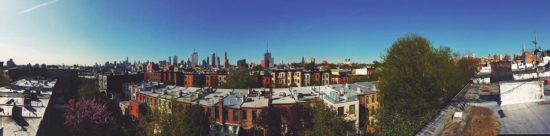 Brooklyn, New York in April