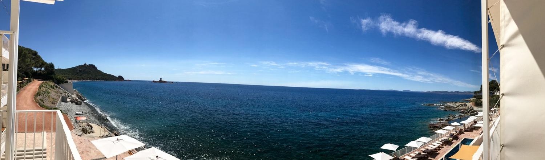Cote D'Azur in July