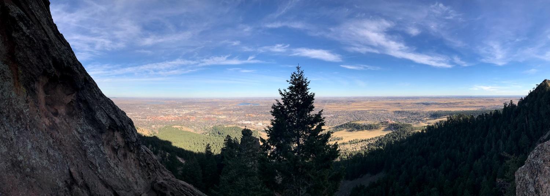 Boulder, Colorado in November