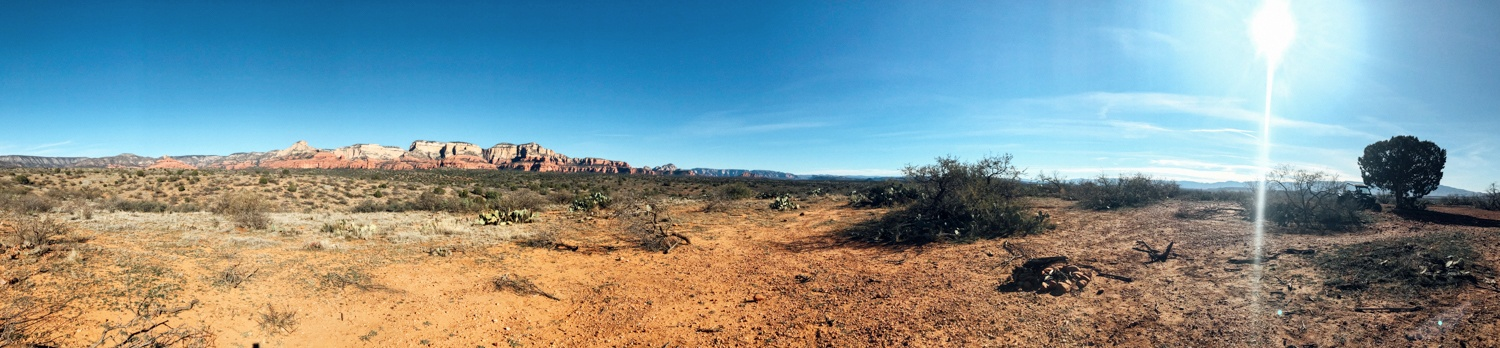 Sedona, Arizona in December