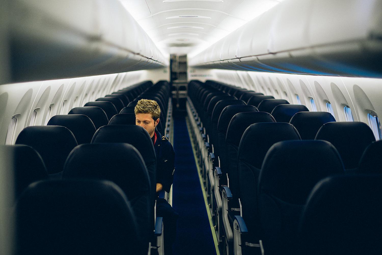 Westjet Airplane Bombardier Conference Toronto Photography
