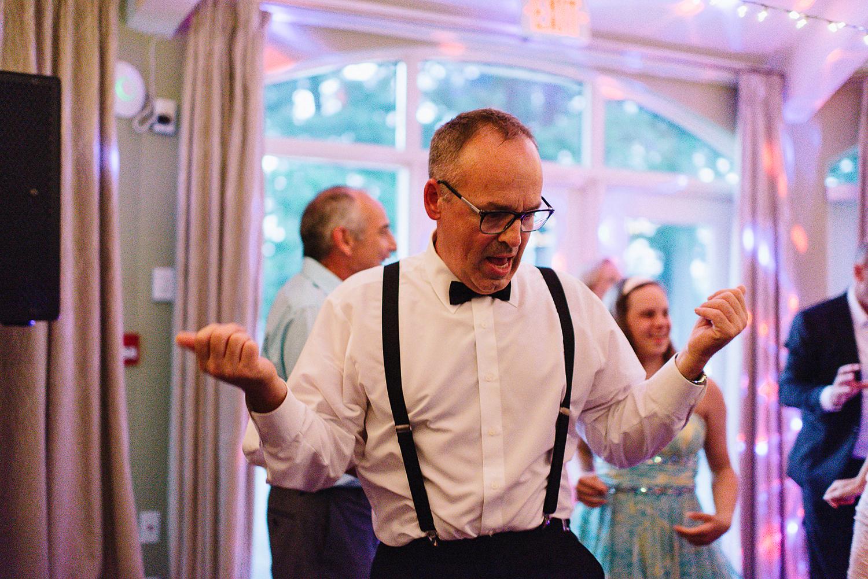 Muskoka-Cottage-Wedding-Photography-Photographer_Photojournalistic-Documentary-Wedding-Photography_Boho-Bride-Father-of-Bride-Reception-dancing.jpg