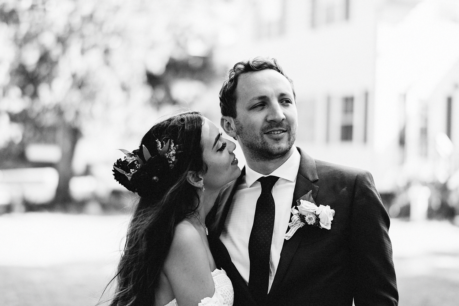 Muskoka-Cottage-Wedding-Photography-Photographer_Photojournalistic-Documentary-Wedding-Photography_Vintage-Bride-Lovers-Land-Dress_Rue-Des-Seins_Forest-Ceremony-and-Groom-Candid--moment-by-the-lakehouse.jpg
