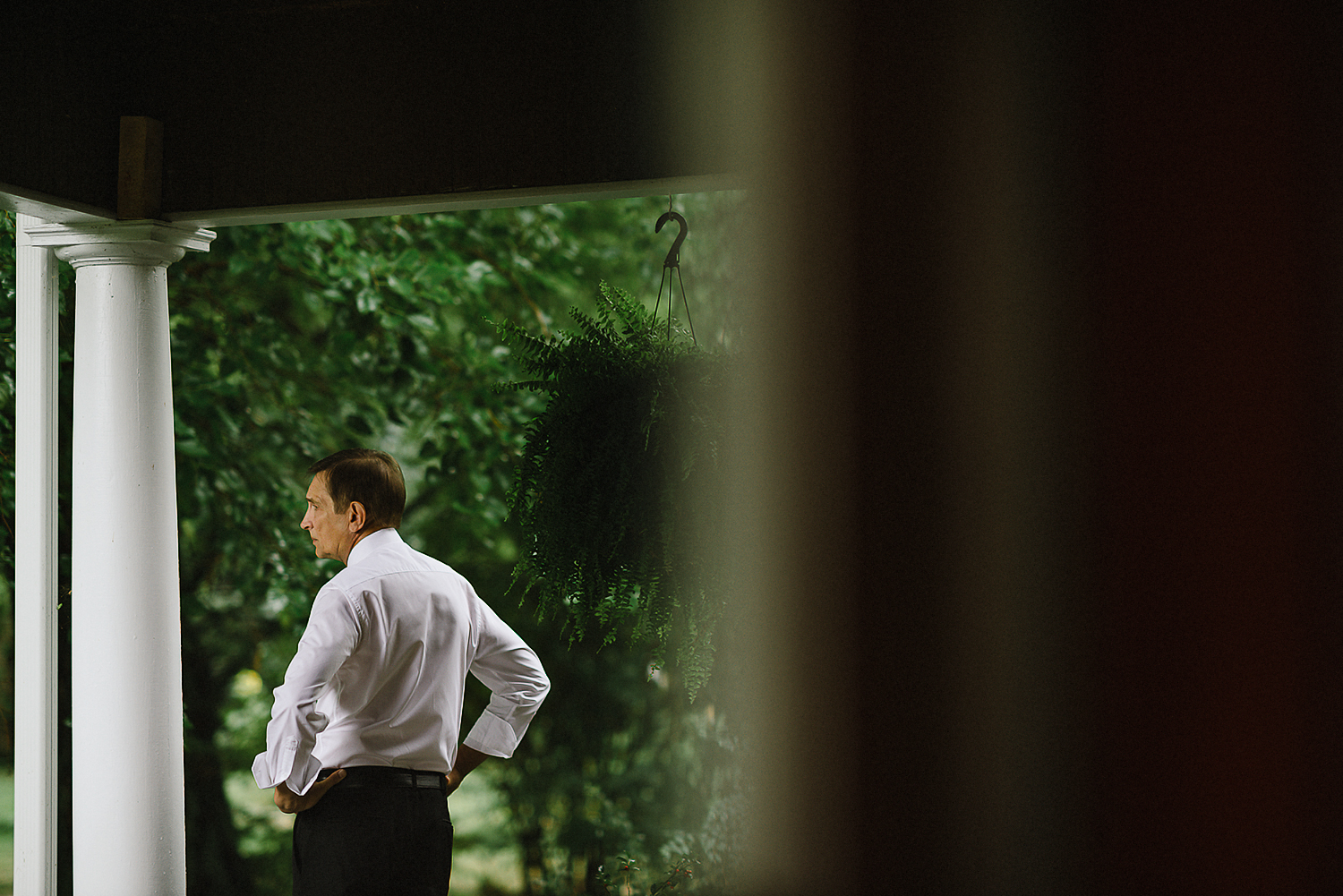 Best-Moody-Documentary-Wedding-Photography-Vintage-Small-Town-Chapel-Wedding-Toronto-Ontario_Father-of-Bride-Candid-Portrait.jpg