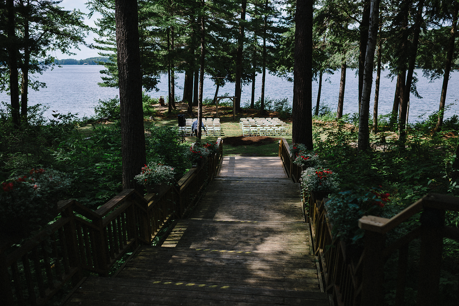 Muskoka-Cottage-Wedding-Photography-Photographer_Photojournalistic-Documentary-Wedding-Photography_Vintage-Bride-Lovers-Land-Dress_Nature_Sherwood-Inn-Lake-Weddingjpg.jpg