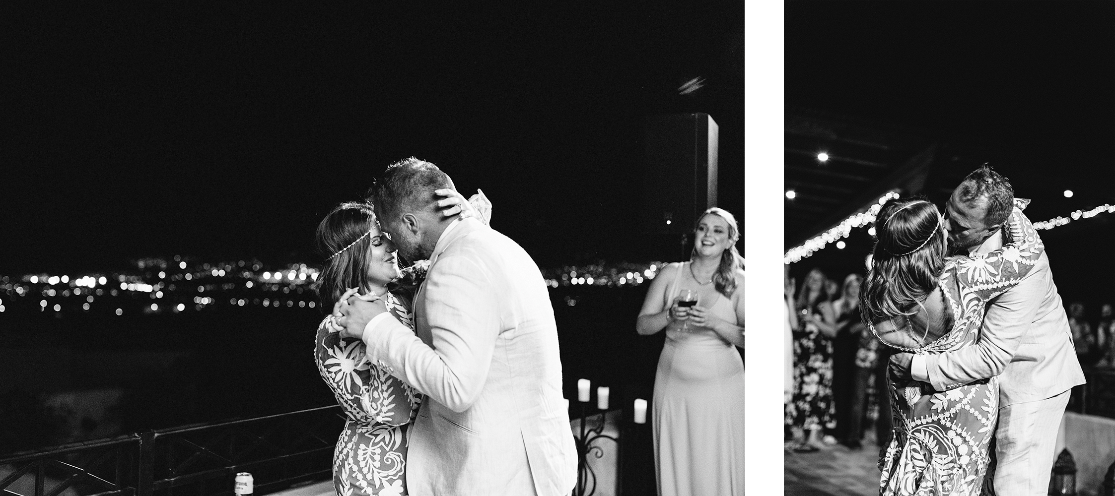 spread-14-cabo-san-lucas-junebug-weddings-green-wedding-shoes-toronto-wedding-photographer-3b-photography-ventanas-private-club-mexico-reception-night-bride-and-groom-first-dance-real-moments-kiss-bw.png