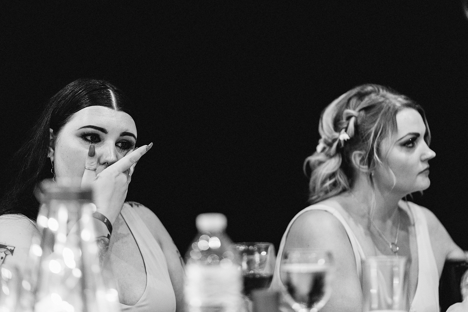 cabo-san-lucas-ventanas-private-residence-alternative-toronto-wedding-photographer-documentary-photojournalistic-reception-sunset-speeches-love-actually-moments-over-mountains-candid-bride-and-groom-speech-moh-crying.jpg