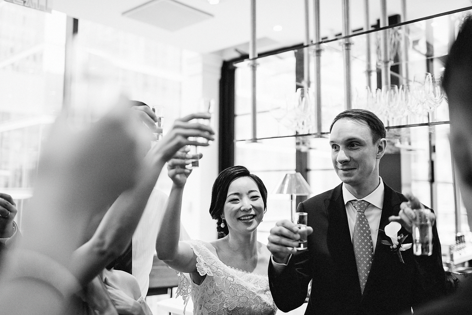 Best-Wedding-Photographers-Toronto_-Urban-City-Wedding-Photography-Downtown-Toronto-Photographer_Vintage-Bride-and-Groom-Details_The-Chase-Wedding-Venue_Candid-Photojournalistic-Documentary-Bride-Groom-Cheers.jpg