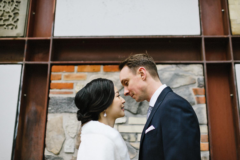 Toronto-Cloud-Gardens-Wedding-Best-Wedding-Photography-Toronto-Financial-District-Chse-Restaurent-Small-Intimate-Vintage-Wedding-Photography-Portrait-Bride-Groom-Kiss.jpg