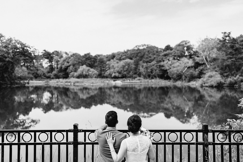 Fine-Art-Documentary-Wedding-Photographer-Toronto-Ontario-Canada_-High-Park-The-Lodge-Outdoor-Forest-Wedding_-Editorial-Couple-Portrait_Candid-Moment.jpg