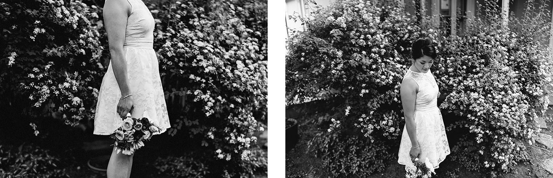 toronto-wedding-photographer-high-park-colborne-lodge-intimate-small-elopement-junebug-weddings-outdoor-wedding-bride-and-groom-portraits-cabin-cottage-like-vibes-greenery-forest-trees-bridal-portrait-short-wedding-dress.jpg