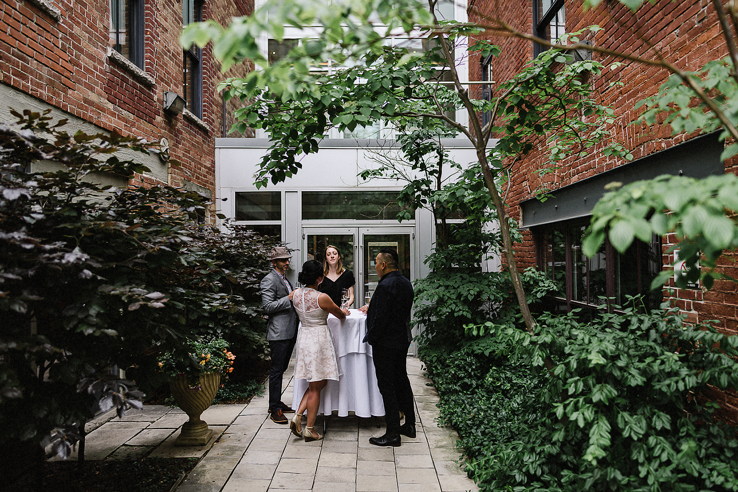 Best-Toronto-Wedding-Photographers_High-Park-Wedding_The-Lodge-Wedding_George-Restaurant-Reception_Analog-Film_Intimate-Candid-Photography_Guests-Detail_Outdoor-Summer-Wedding-Toronto_Casual-Restaurant-Wedding-Bride-and-Groom-Toronto.jpg