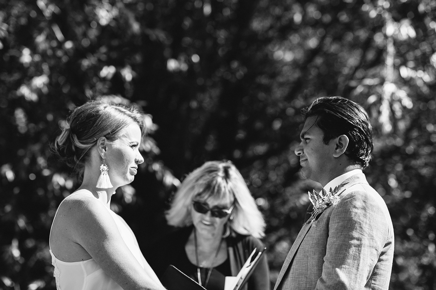 Best-Documentary-photojournalistic-wedding-photographers-Toronto-Ontario-Canada-Rural-Country-House-Backyard-Wedding-Ceremony-Vintage-aesthetic-bride-and-groom-saying-vows-bw.jpg