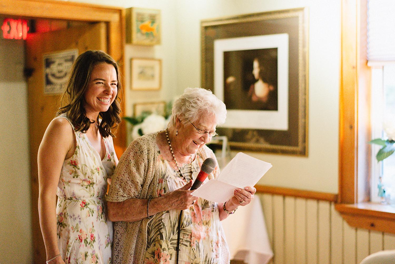 Country-Side-Wedding-Reception-at-private-Inn-restaurant-Vintage-Bride-and-Groom-Toronto-Wedding-Photographers-Venue-Vintage-Bar-Grandma-Portrait-Candid-Documentary-Grandma-speech.jpg
