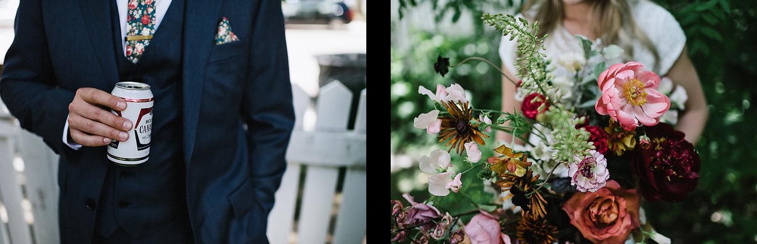 16-Bride-and-Groom-Boho-Aesthetic-Toronto-Wedding-Photography-Summer-Vintage-Wedding-Groom-and-Bride-Editorial-GRoom-and-Bride-Editorial-Hunt-and-Gather-Bouquet.jpg