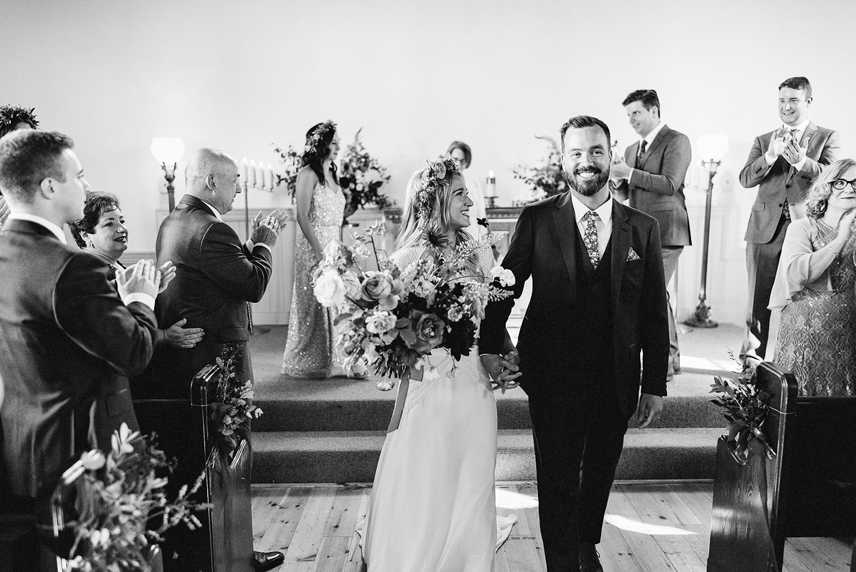 Best-Wedding-Venues-Toronto-Vintage-Country-Home-Doctors-House-Kleinburg-Analog-Film-Wedding-Photography-Best-Wedding-photographers-Toronto-3B-Photo-Ceremony-Vintage-Chapel-Bride-and-groom-exit.jpg