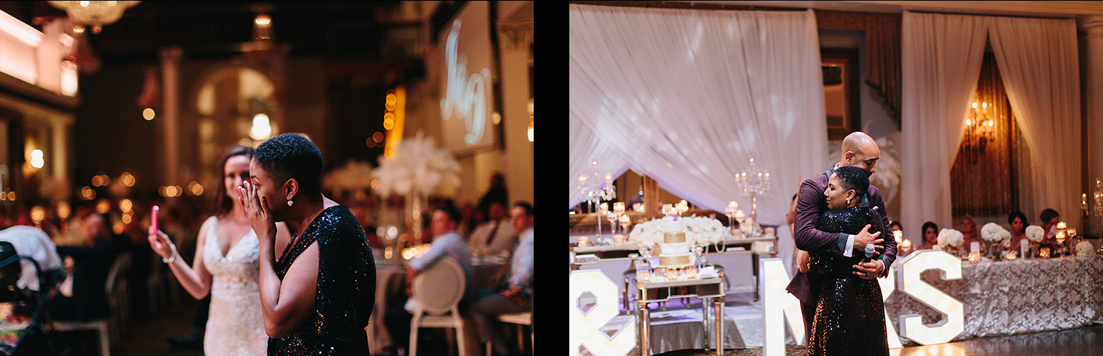 spread-34-Best-Wedding-Venues-Toronto-Liberty-Grande-vintage-wedding-photography-toronto-bride-and-groom-wedding-photographer-reception-speeches-grooms-speech-emotional-sister-crying-hugging.jpg