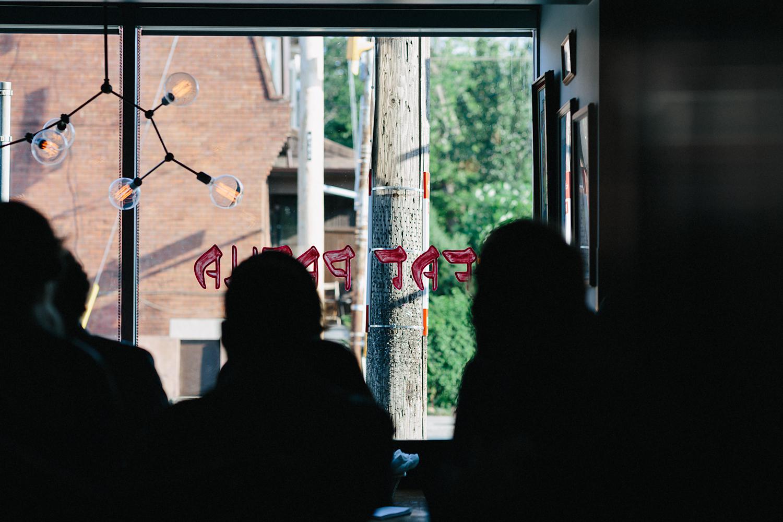 urban-downtown-toronto-wedding-fat-pasha-torontos-best-wedding-photographer-3b-photography-film-photographer-analog-photography-outdoor-patio-cocktail-hour-wall-mural-buffet.jpg