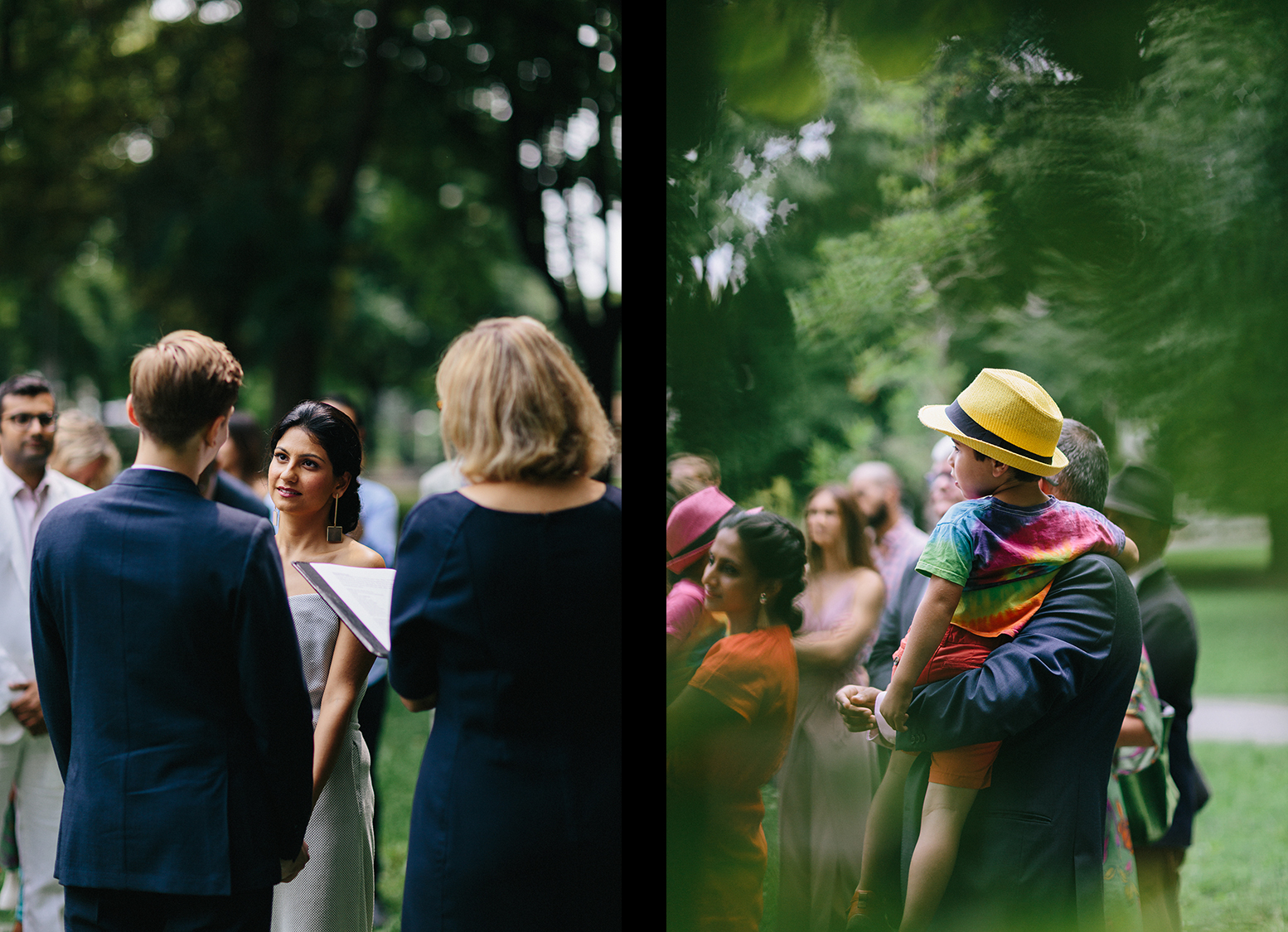 4-Intimate-Toronto-Pop-Up-Elopement-Downtown-Urban-film-analog-photography-toronto-wedding-photographers-alternative-hipster-bride-and-groom-badass-ceremony-guests-watching-mom-laughing.jpg