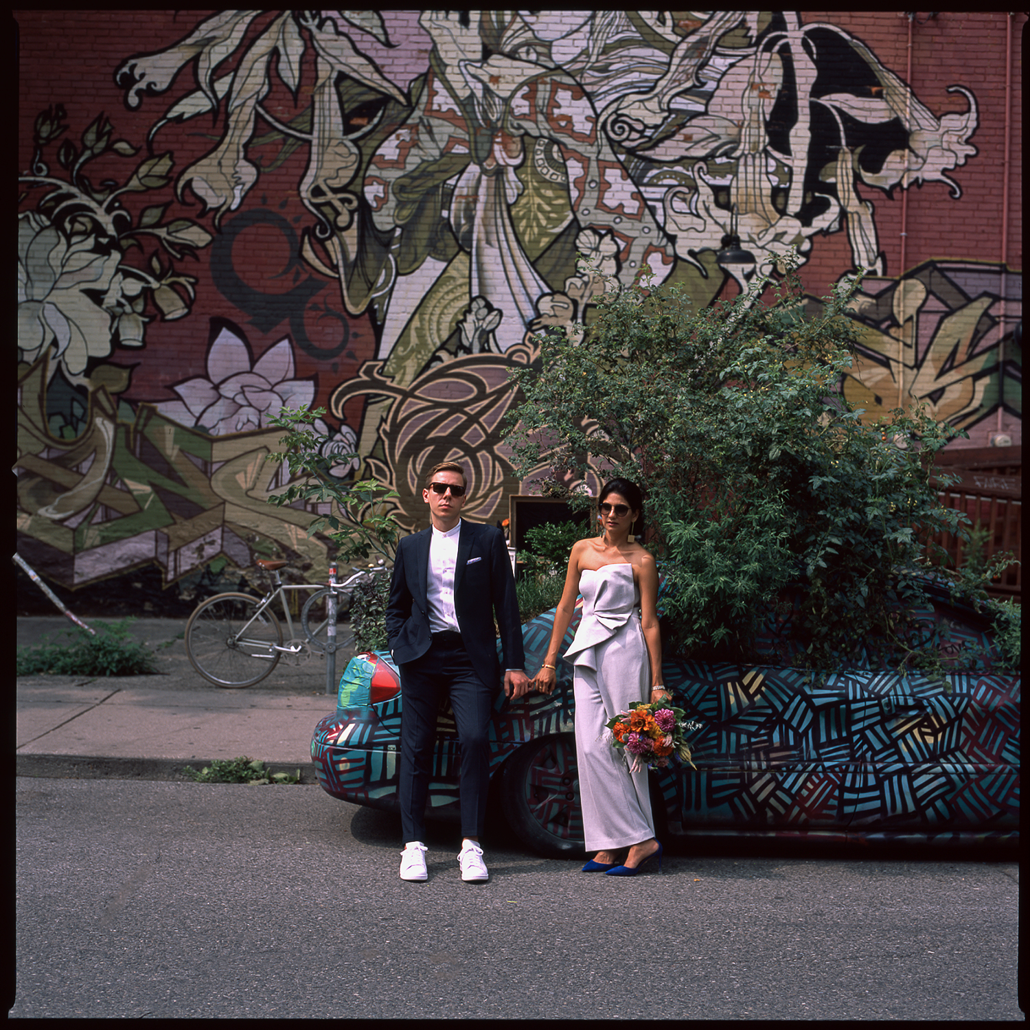 Best-Documentary-Wedding-Photographers-Toronto-Analog-Film-Photographer-Downtown-Kensington-Market-City-Bride-Bridal-Jumpsuit-Style.jpg