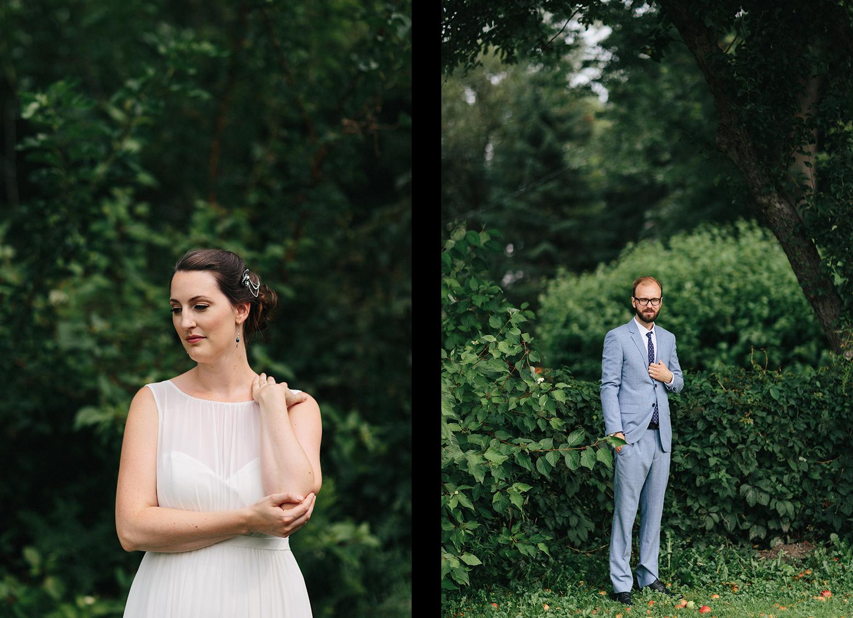4-Toronto-Island-Wedding-Toronto-Best-Film-Wedding-Photographers-3b-photography-analog-photography-wards-island-clubhouse-junebug-weddings-vintage-venue-moody-romantic-natural-candid-beautiful-groom-portrait-trees.jpg