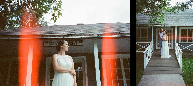 7-Best-Analog-Film-Wedding-Photographers-Toronto-Ontario-Canada-35mm-Cinestill-800T-Bride-Portrait-with-red-light-leak-Toronto-Island-Wedding-Venue.jpg