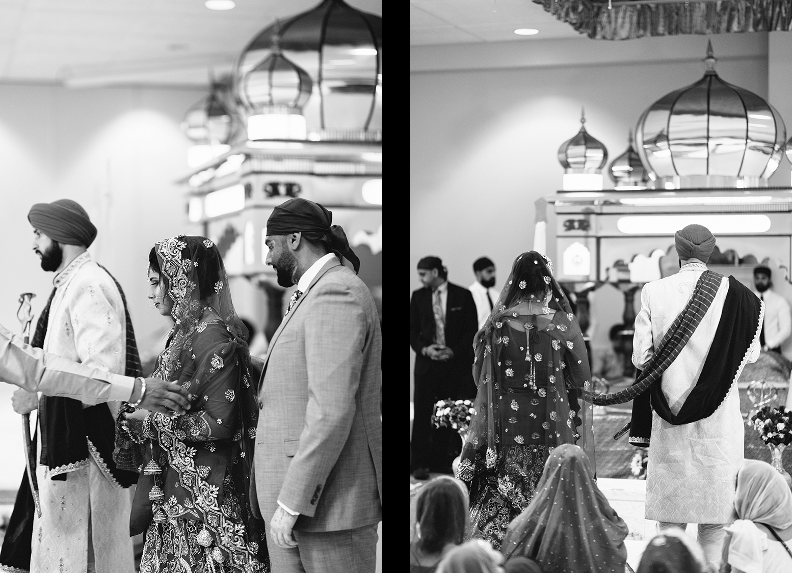 13-Toronto's-Best-Wedding-Photographers-Multicultural-wedding-specialty-ontario-port-perry-ceremony-at-temple-candid-documentary-photos-photojournalistic-sikh-wedding-intimate-special-tradition-groom-and-bride-together-bw.jpg