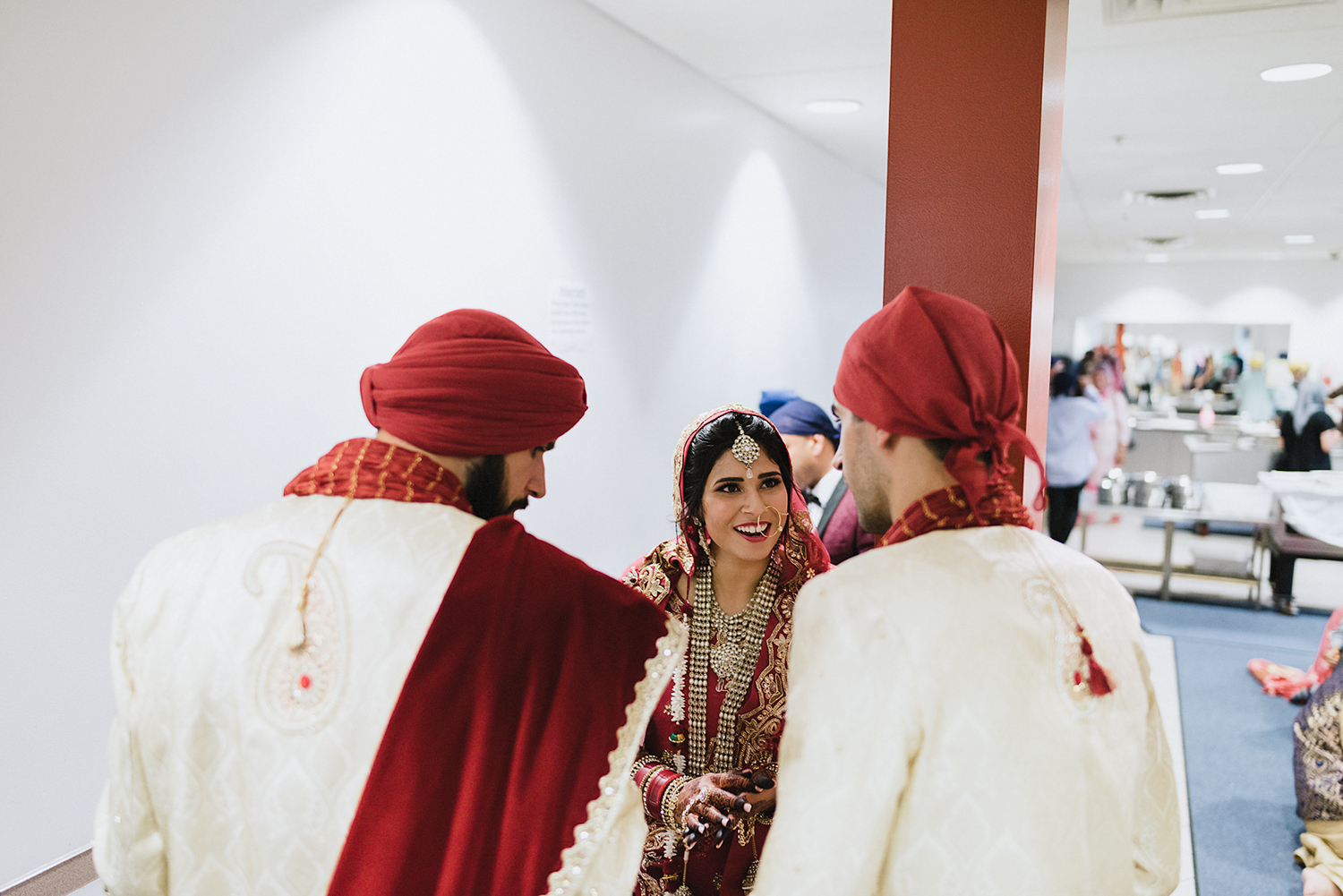 Toronto-Photojournalism-wedding-photographers-3B-Photography-Candid-Documentary-Film-Photography-Analog-Ontario-Hamilton-Port-Perry-Venue-temple-ceremony-sikh-tradition-bride-and-groom-just-married.jpg