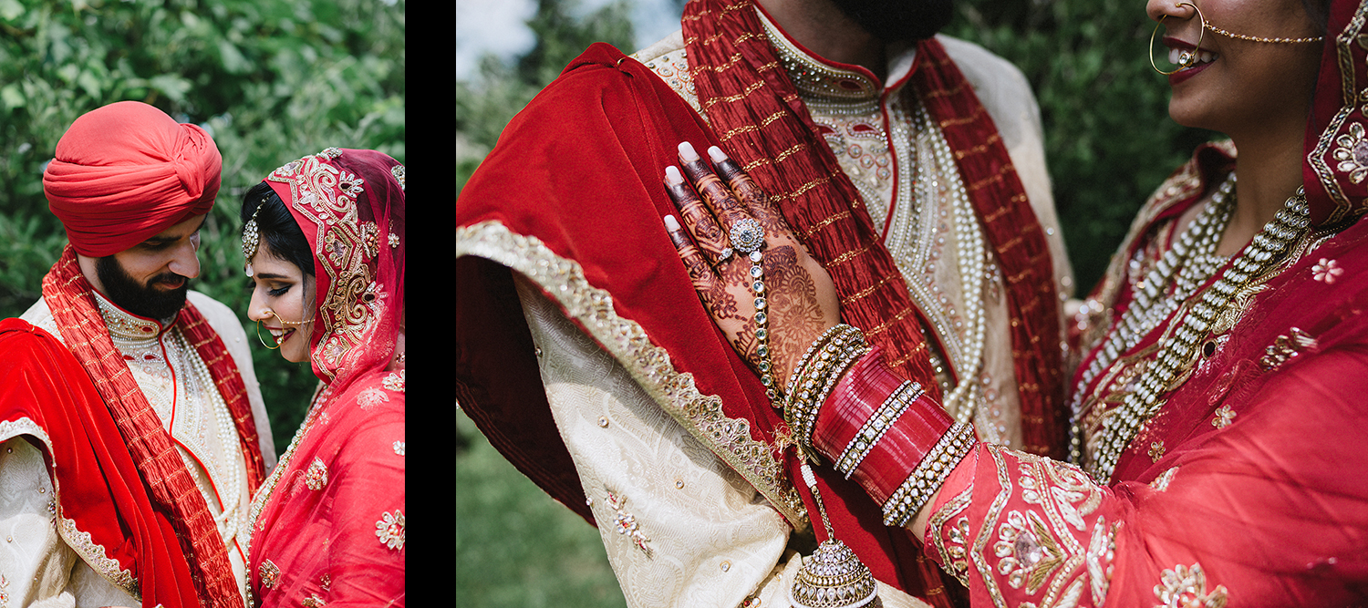 21-Toronto-Photojournalism-wedding-photographers-3B-Photography-Candid-Documentary-Film-Photography-Analog-Ontario-Hamilton-Port-Perry-best-venues-portrait-of-bride-and-groom-in-traditional-dress-henna-smiling.jpg