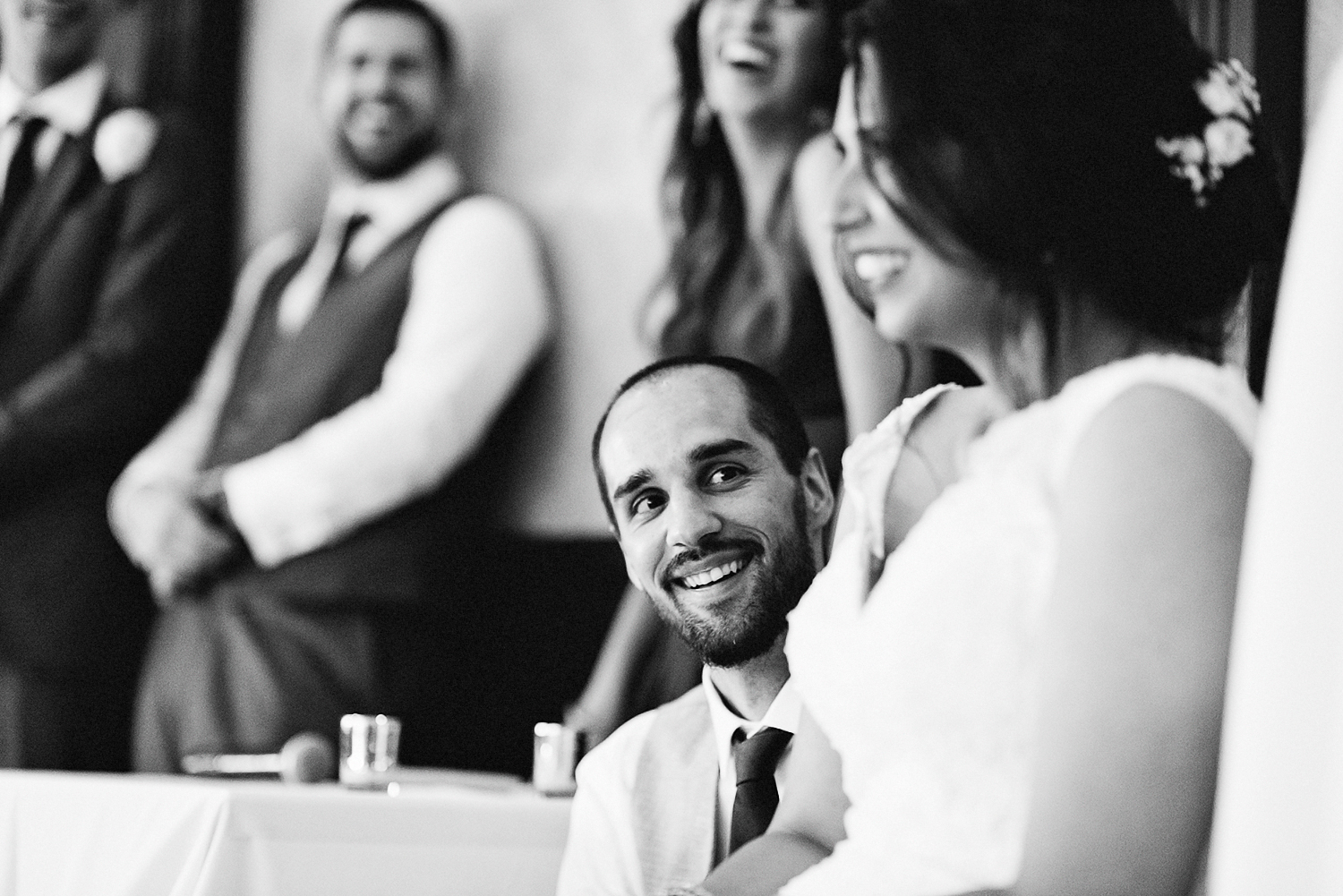 Toronto's-Best-Film-Wedding-Photography-3B-Photography-Multicultural-wedding-day-two-Hamilton-Grimsby-Toronto-Wedding-documentary-photojournalistic-photojournalism-Groom-Reaction-to-speech-laughing-candid.jpg