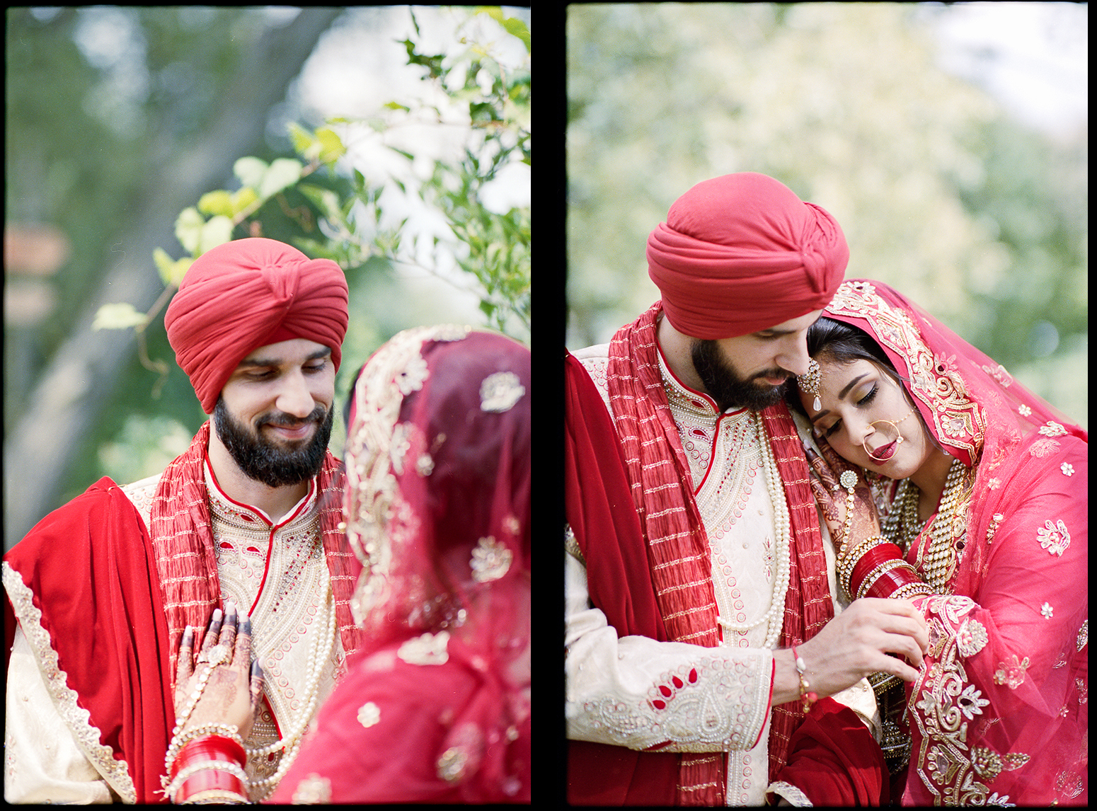 1-Best-Analog-Film-Wedding-Photographers-in-Toronto-3B-Photography-Brian-B-Bettencourt-Leica-M4P-Kodak-Film-Portra-400-BRide-getting-ready-sunrise-light-on-traditional-indian-Sikh-Wedding-bride-and-groom-candid-portrait-bride-quiet-moment.jpg