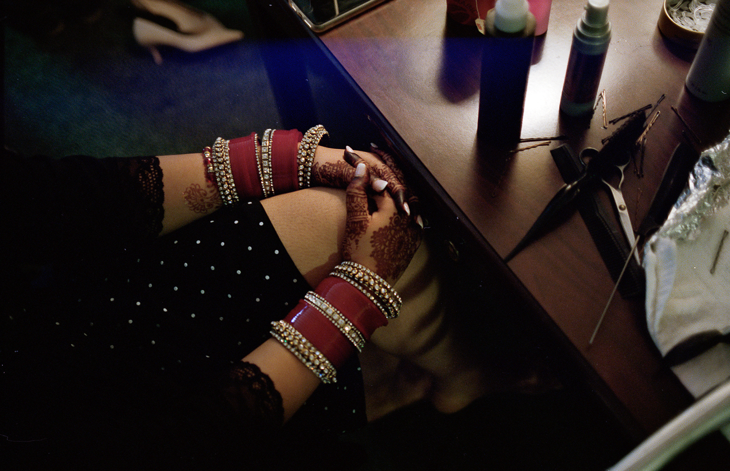 Best-Analog-Film-Wedding-Photographers-in-Toronto-3B-Photography-Brian-B-Bettencourt-Leica-M4P-Kodak-Film-Portra-400-Bride-Getting-Ready-Mixed-Culture-Wedding-Indian-Bride-Details.jpg