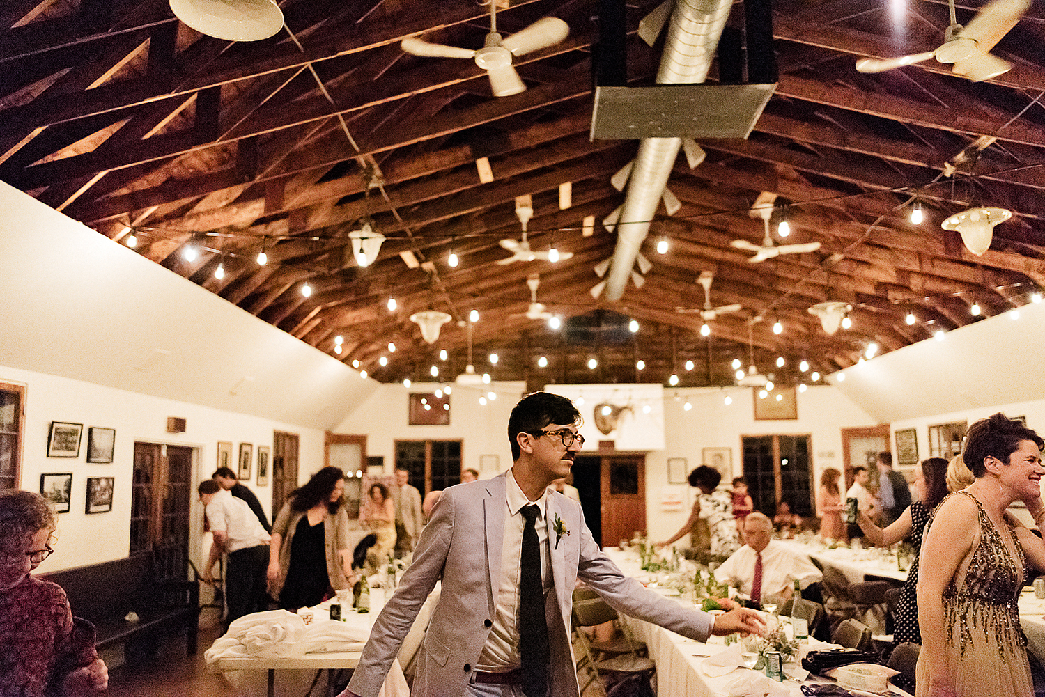 Best-Wedding-Photographers-in-Toronto-with-Photojournalistic-Documentary-Style-3B-Photography-Brian-Batista-Bettencourt-Intimate-Vintage-Wedding-at-Toronto-Island-Cafe-Clubhouse-Reception-Groom-Dancing-Epic.jpg