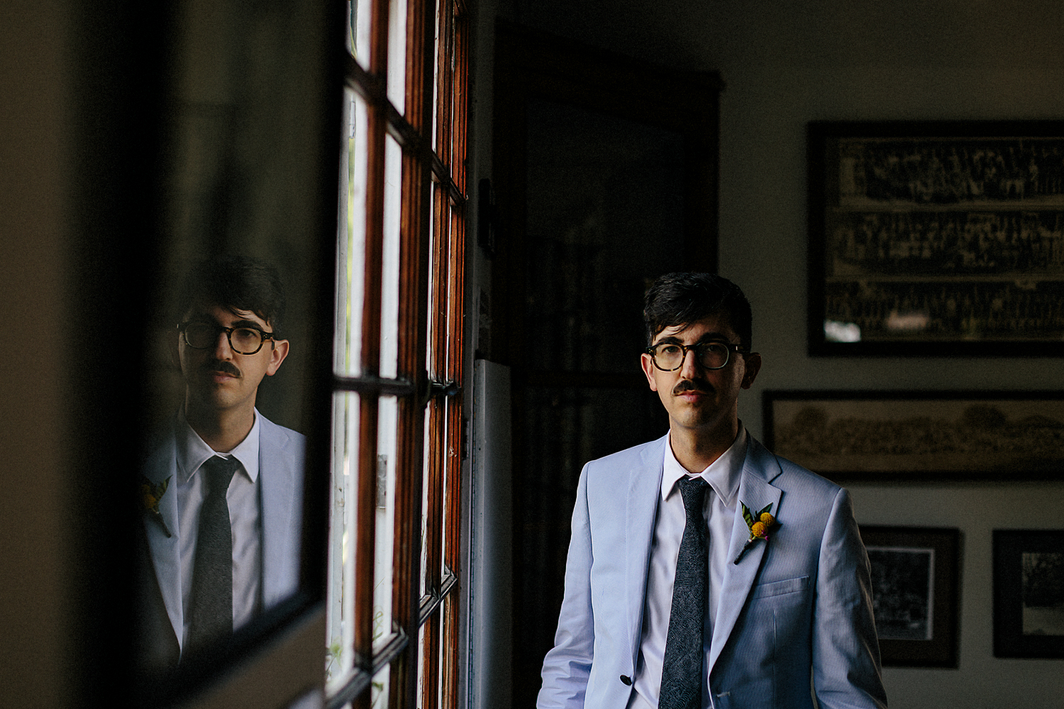 Best-Wedding-Photographers-Toronto-with-documentary-style-photojournalistic-wedding-photographer-editorial-cool-hip-timeless-Intimate-Vintage-Toronto-Island-Cafe-Clubhouse-Wedding-Groom-Candid-Getting-Ready-Portrait.jpg