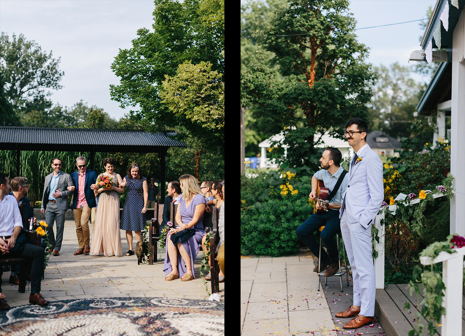 Best-Wedding-Photographers-Toronto-with-documentary-style-photojournalistic-wedding-photographer-editorial-cool-hip-timeless-Intimate-Vintage-Toronto-Island-Cafe-Clubhouse-Wedding-Venue-Detail-cinematic-first-look-Ceremony-Aisl-Walk.jpg